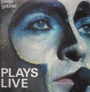 Double LP - Peter Gabriel - Plays Live