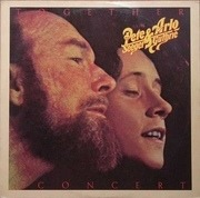 Double LP - Pete Seeger & Arlo Guthrie - Pete Seeger & Arlo Guthrie Together In Concert