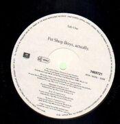 LP - Pet Shop Boys - Actually