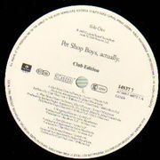 LP - Pet Shop Boys - Actually - Club Edition