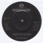 7'' - Pet Shop Boys - Always On My Mind