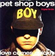 7'' - Pet Shop Boys - Love Comes Quickly