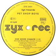12'' - Pet Shop Boys - One More Chance