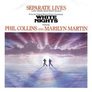 7inch Vinyl Single - Phil Collins And Marilyn Martin - Separate Lives (Love Theme From White Nights)