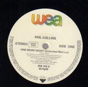 12inch Vinyl Single - Phil Collins - One More Night