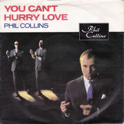 7inch Vinyl Single - Phil Collins - You Can't Hurry Love