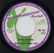 7inch Vinyl Single - Phil Woods / Gene Quill / Sahib Shihab / Hal Stein - Four Altos