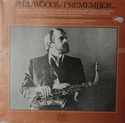 LP - Phil Woods - I Remember - Gat