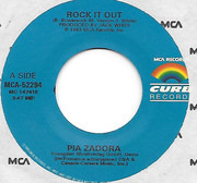 7inch Vinyl Single - Pia Zadora - Rock It Out