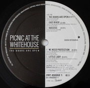 LP - Picnic At The Whitehouse - The Doors Are Open