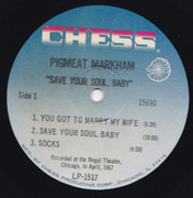 LP - Pigmeat Markham - Save Your Soul, Baby!