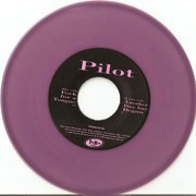 7inch Vinyl Single - Pilot - Another Day Has Begun / Fork For A Tongue - Purple