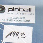 12'' - Pinball - China In Your Hand