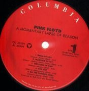 LP - Pink Floyd - A Momentary Lapse Of Reason - US PRESS