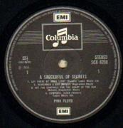 LP - Pink Floyd - A Saucerful Of Secrets - UK SCX 6258