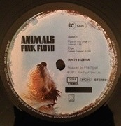 LP - Pink Floyd - Animals - BARCODE SLEEVE