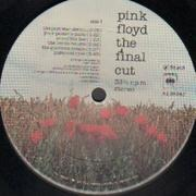 LP - Pink Floyd - The Final Cut - Original