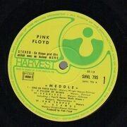 LP - Pink Floyd - Meddle - Original 1st French. Gatefold