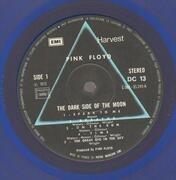 LP - Pink Floyd - The Dark Side Of The Moon - Blue Vinyl