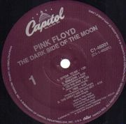 LP - Pink Floyd - The Dark Side Of The Moon - US PURPLE LABELS C1-46001