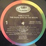 LP - Pink Floyd - The Dark Side Of The Moon - Rainbow Label