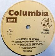 LP - Pink Floyd - A Saucerful Of Secrets - UK