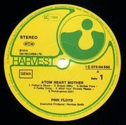 LP - Pink Floyd - Atom Heart Mother