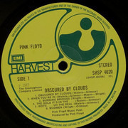 LP - Pink Floyd - Obscured By Clouds - Textured, rounded corners