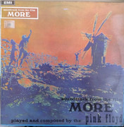 LP - Pink Floyd - Soundtrack From The Film 'More' - Colombian Original