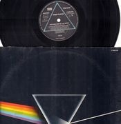 LP - Pink Floyd - The Dark Side Of The Moon - QUADROPHONIC