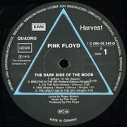 LP - Pink Floyd - The Dark Side Of The Moon - QUAD