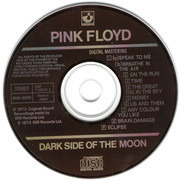 CD - Pink Floyd - The Dark Side Of The Moon