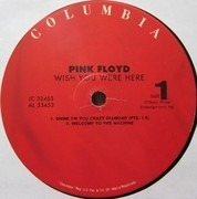 LP - Pink Floyd - Wish You Were Here