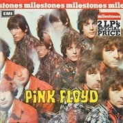 Double LP - Pink Floyd - Milestones / Piper At The Gates Of Dawn / Saucerful Of Secrets - RED LABELS