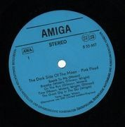 LP - Pink Floyd - The Dark Side Of The Moon - BLUE LABEL