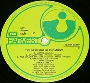LP - Pink Floyd - The Dark Side Of The Moon - SWEDISH PRESSING