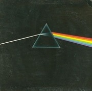 LP - Pink Floyd - The Dark Side Of The Moon - WITH POSTERS AND POSTCARDS