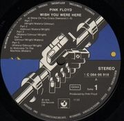 LP - Pink Floyd - Wish You Were Here - NO POSTCARD