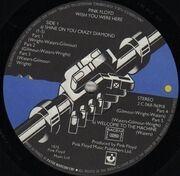 LP - Pink Floyd - Wish You Were Here - BLACK SHRINKWRAP