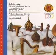 CD - Tchaikovsky - Symphony No. 4