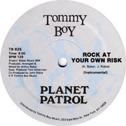 Play At Your Own Risk - Planet Patrol | 12'' | Recordsale