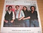 7inch Vinyl Single - Poco - Indian Summer
