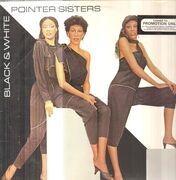 LP - Pointer Sisters - Black & White - Promo