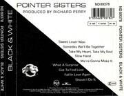 CD - Pointer Sisters - Black & White