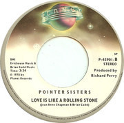 7inch Vinyl Single - Pointer Sisters - Fire