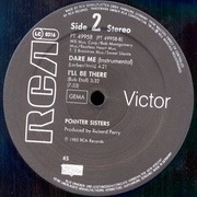 12'' - Pointer Sisters - Dare Me