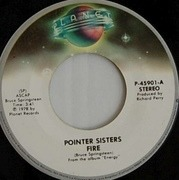 7'' - Pointer Sisters - Fire