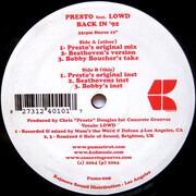12inch Vinyl Single - Presto - Back In '92