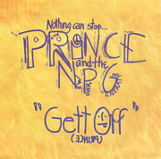 7inch Vinyl Single - Prince And The New Power Generation - Gett Off - Small Centre Hole