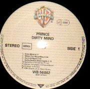 LP - Prince - Dirty Mind